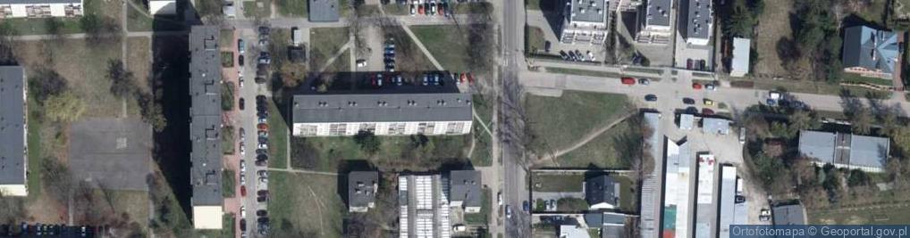 Zdjęcie satelitarne Marysińska 88