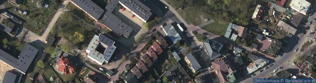 Zdjęcie satelitarne Mała ul.