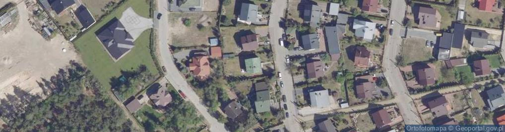 Zdjęcie satelitarne Malinowskiego Maksymiliana ul.