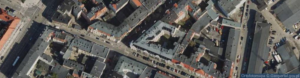Zdjęcie satelitarne Małeckiego Antoniego ul.