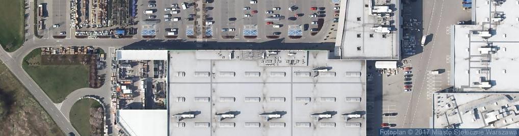 Zdjęcie satelitarne Malborska 35