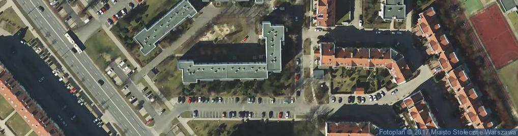 Zdjęcie satelitarne Małej Łąki ul.