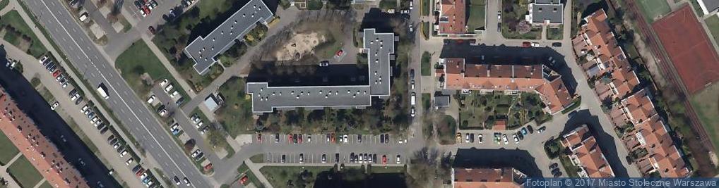 Zdjęcie satelitarne Małej Łąki 1