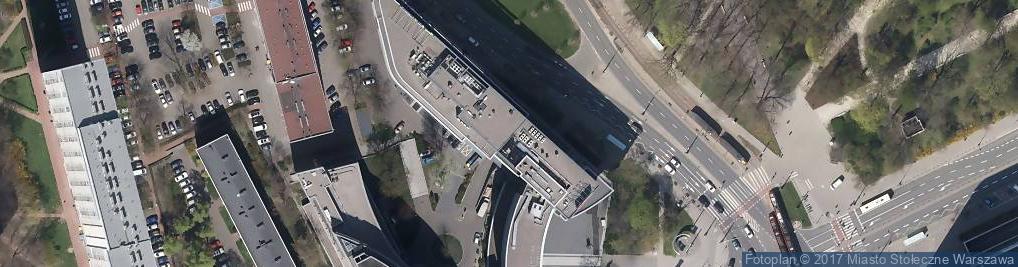 Zdjęcie satelitarne Marszałkowska 111A