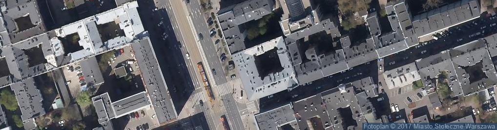 Zdjęcie satelitarne Marszałkowska 66