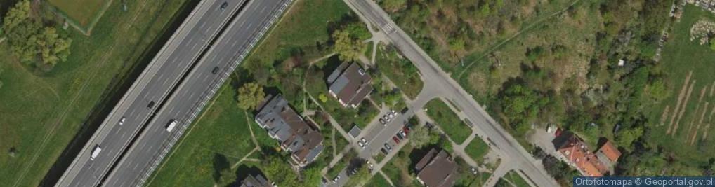 Zdjęcie satelitarne Maślicka ul.
