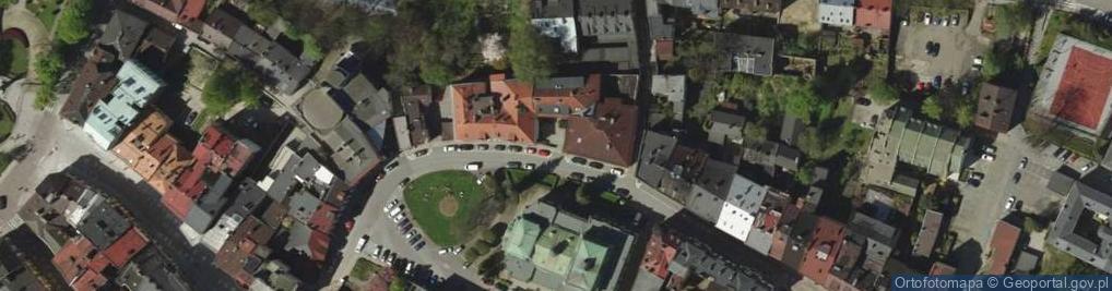 Zdjęcie satelitarne Mennicza ul.