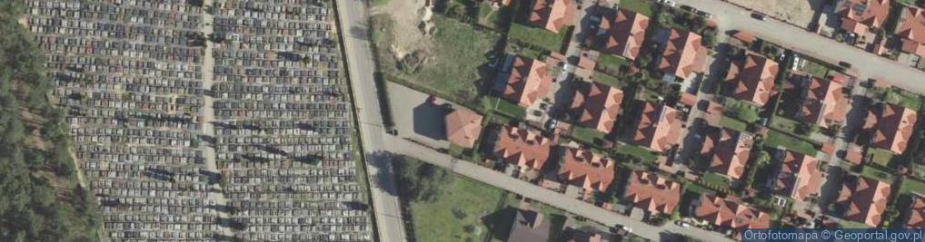 Zdjęcie satelitarne Miłosna ul.
