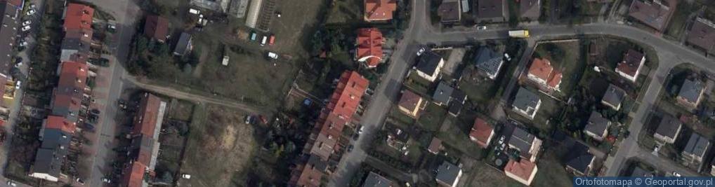 Zdjęcie satelitarne Migdałowa 51