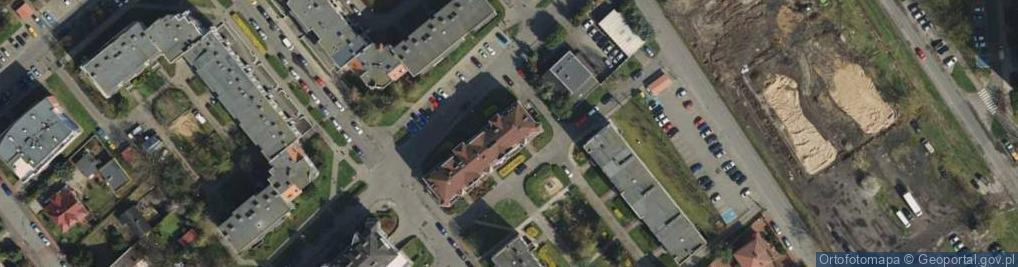 Zdjęcie satelitarne Międzyborska 20