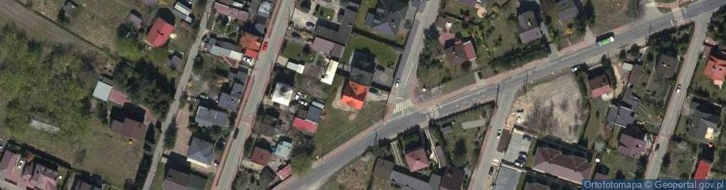 Zdjęcie satelitarne Miodowa 1