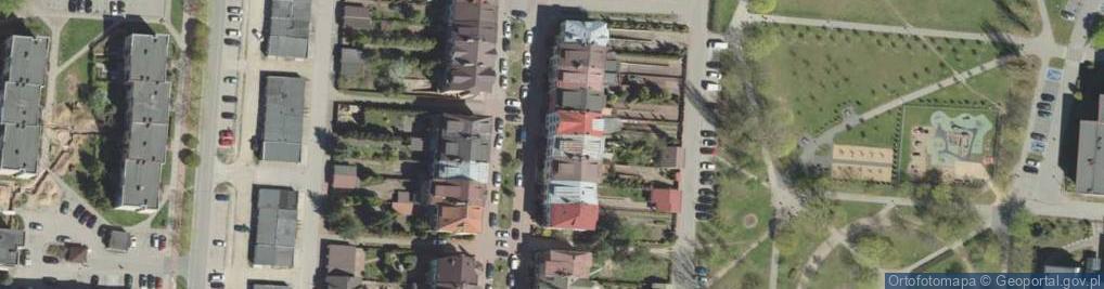 Zdjęcie satelitarne Minkiewicza Romualda ul.