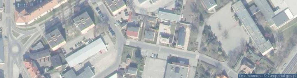 Zdjęcie satelitarne Mickiewicza Adama 3