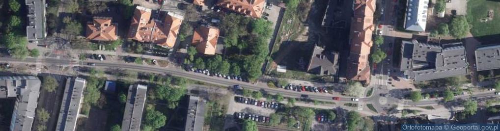 Zdjęcie satelitarne Mickiewicza Adama 24-26