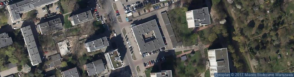 Zdjęcie satelitarne Międzynarodowa ul.