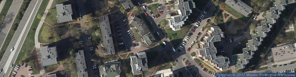 Zdjęcie satelitarne Międzyborska 43