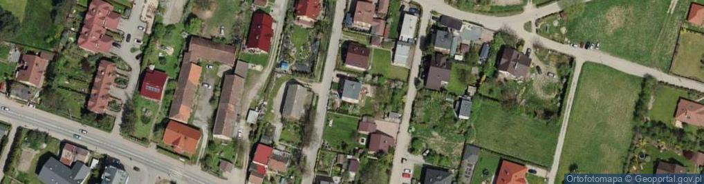 Zdjęcie satelitarne Mleczna ul.