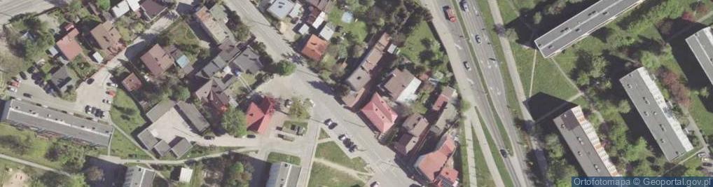 Zdjęcie satelitarne Młodzianowska ul.