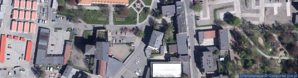 Zdjęcie satelitarne Młyńska 3