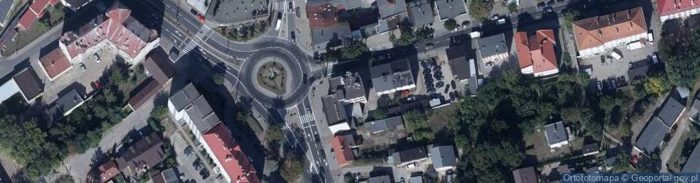 Zdjęcie satelitarne Mławska ul.