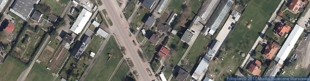 Zdjęcie satelitarne Modlińska ul.