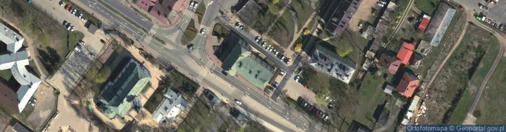 Zdjęcie satelitarne Modlińska 152
