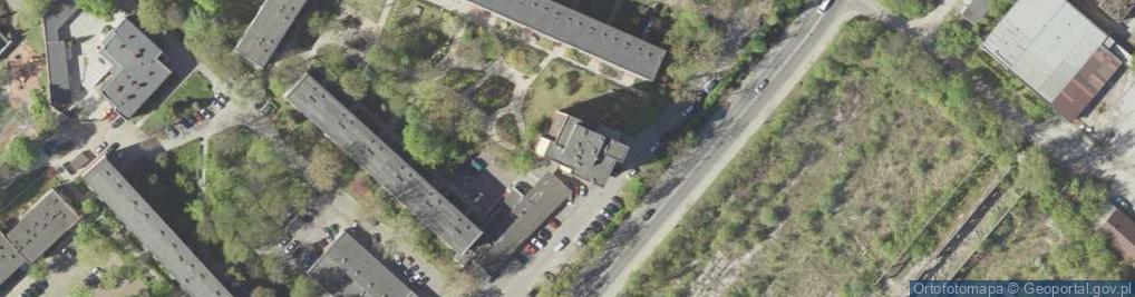 Zdjęcie satelitarne Motorowa ul.