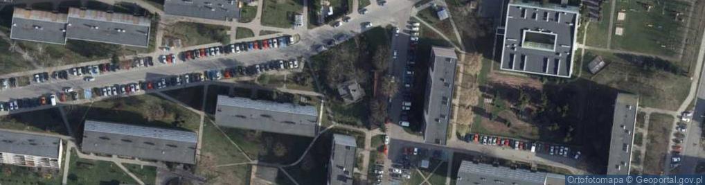 Zdjęcie satelitarne Mokra 15
