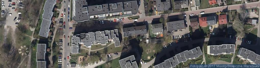 Zdjęcie satelitarne Motycka 21