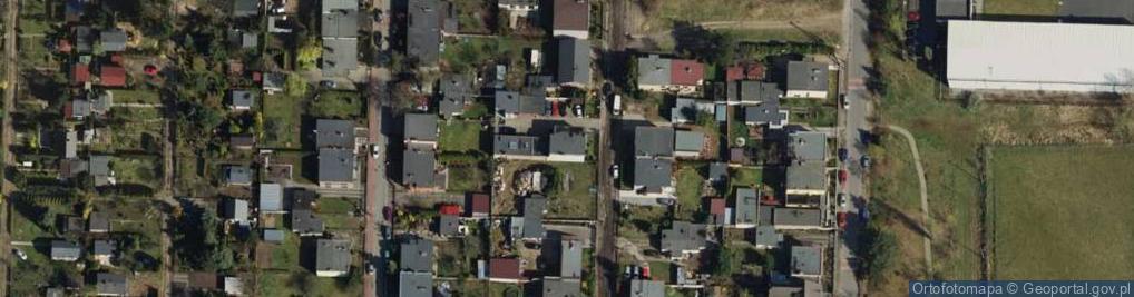 Zdjęcie satelitarne Mrowińska ul.