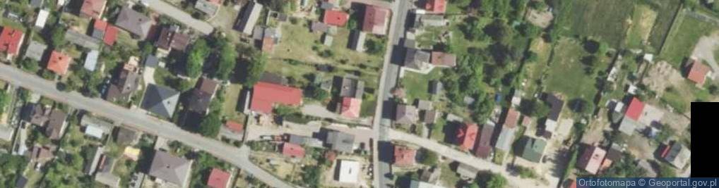 Zdjęcie satelitarne Mstowska 16