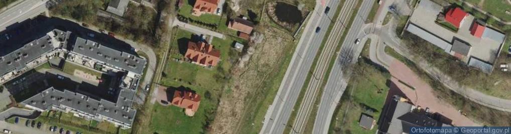 Zdjęcie satelitarne Myśliwska 27