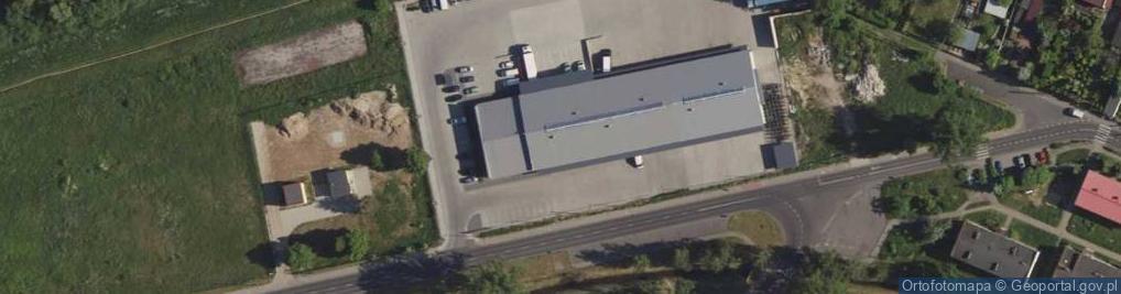 Zdjęcie satelitarne Nadrzeczna 56