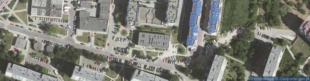 Zdjęcie satelitarne Na Błonie 1