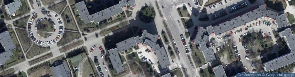 Zdjęcie satelitarne Nastrojowa ul.