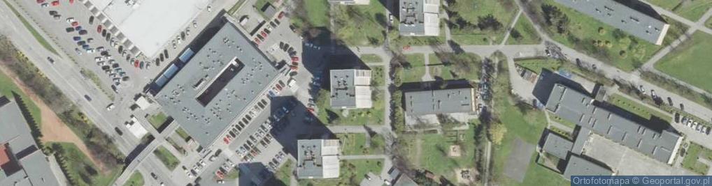 Zdjęcie satelitarne Nawojowska ul.