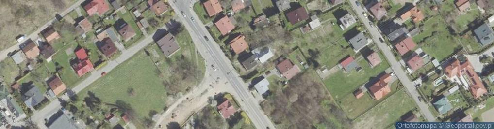 Zdjęcie satelitarne Nawojowska 85