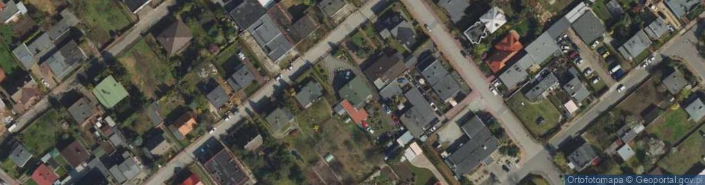 Zdjęcie satelitarne Narcyzowa 25