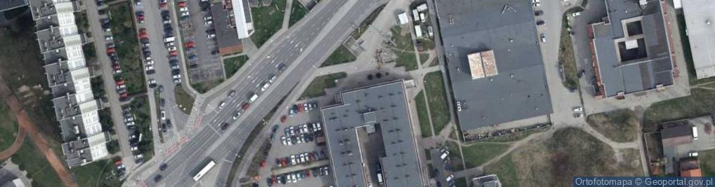 Zdjęcie satelitarne Niemodlińska ul.