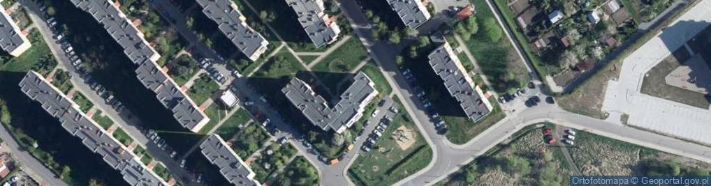 Zdjęcie satelitarne Norwida Cypriana Kamila 8c