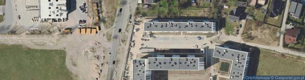 Zdjęcie satelitarne Nowatorów ul.