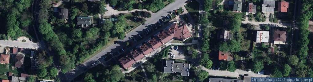 Zdjęcie satelitarne Nowickiego Fortunata ul.