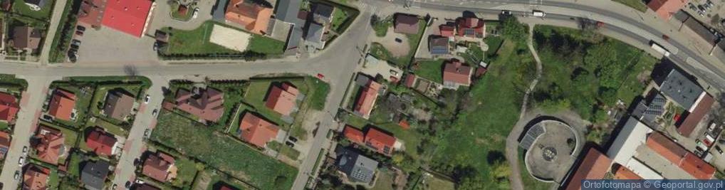 Zdjęcie satelitarne Nowoosadnicza 1