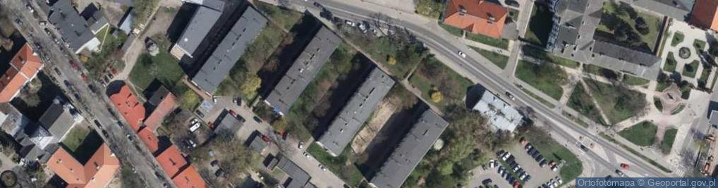 Zdjęcie satelitarne Nowowiejskiego Antoniego Juliana, abp. ul.