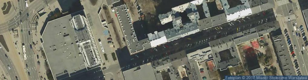 Zdjęcie satelitarne Nowogrodzka 20