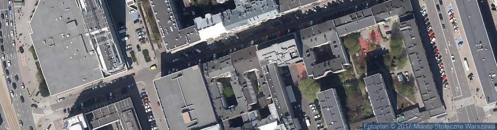 Zdjęcie satelitarne Nowogrodzka 23