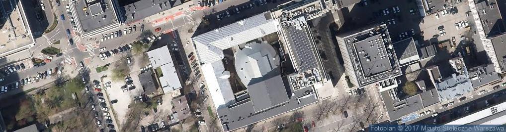 Zdjęcie satelitarne Nowogrodzka 49