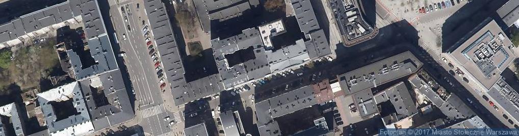 Zdjęcie satelitarne Nowogrodzka 6