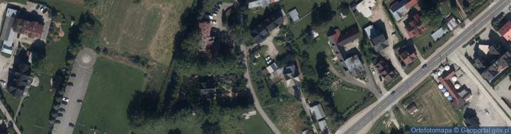 Zdjęcie satelitarne Oberconiówka ul.