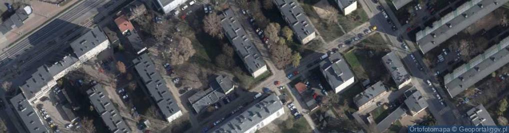 Zdjęcie satelitarne Odrodzenia 1